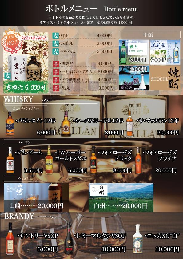 ボトルメニュー1p目